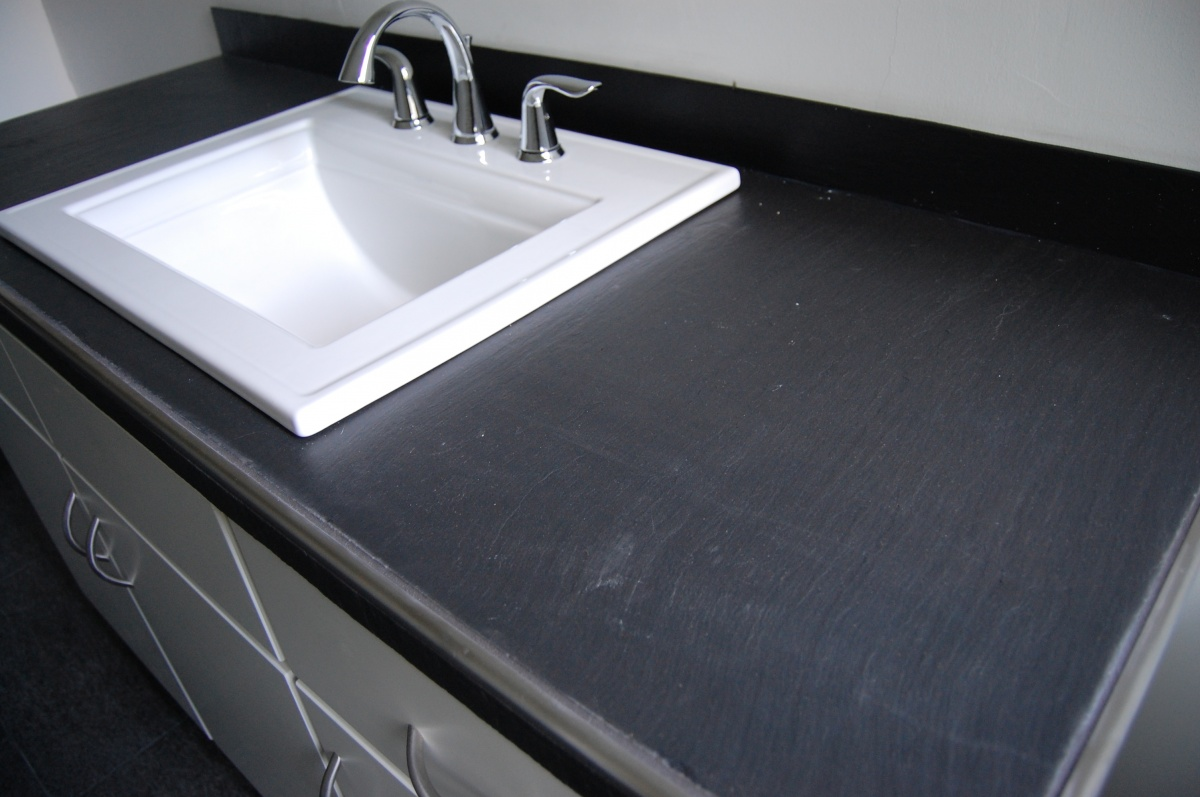 Cost Of Slate Countertops slate countertops from old chalkboards - loren wood builders