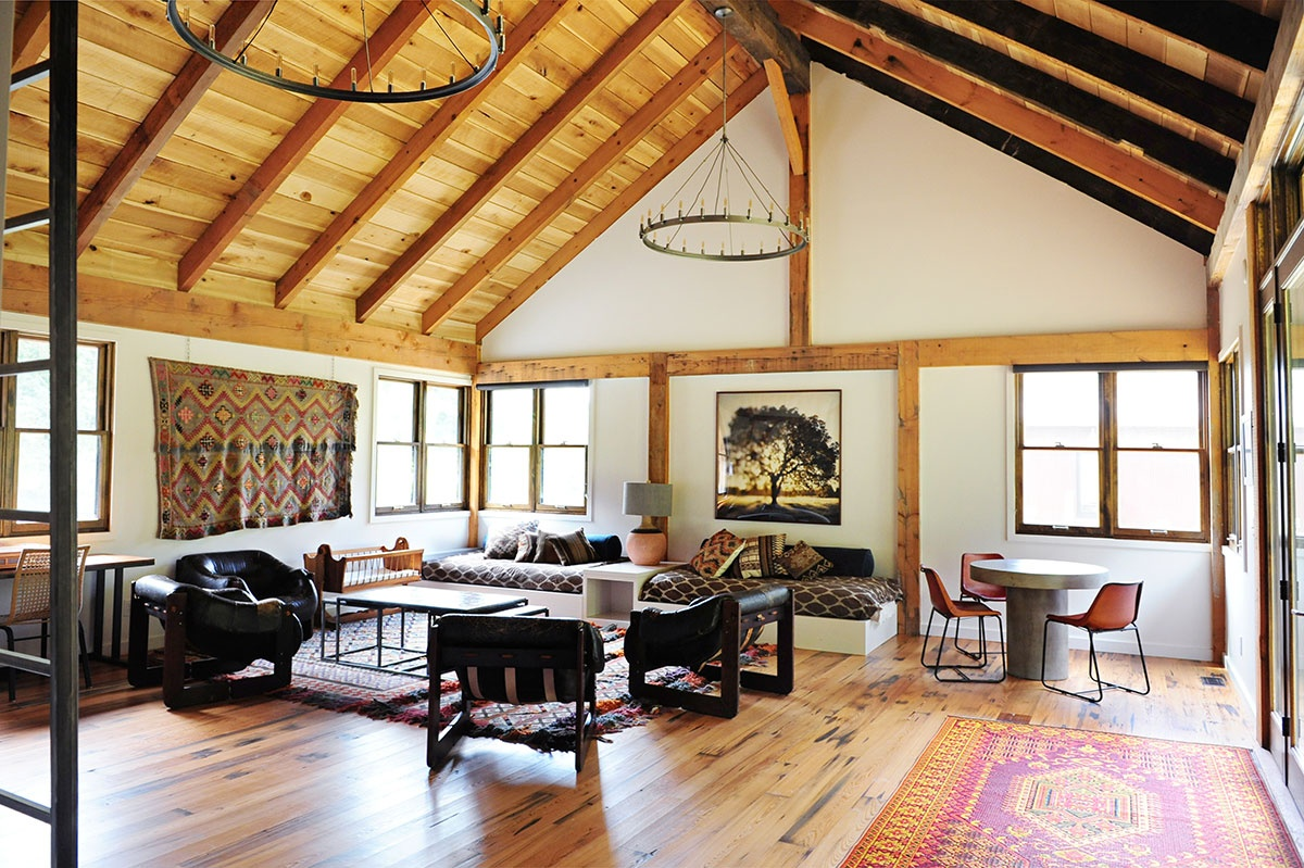 Barn apartment loren wood builders for Barn loft homes