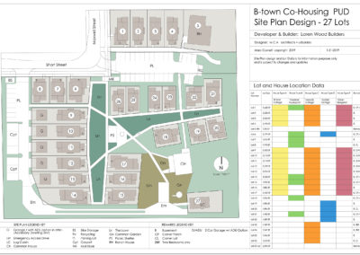 Cohousing Site plan
